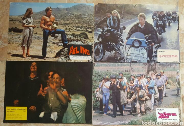 Cine: LOTE DE 54 FOTOCROMOS LOBBY CARDS CINE TERROR CIENCIA-FICCIÓN GIALLO KINKI DROGAS EROTICO - Foto 10 - 120032532