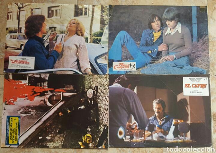 Cine: LOTE DE 54 FOTOCROMOS LOBBY CARDS CINE TERROR CIENCIA-FICCIÓN GIALLO KINKI DROGAS EROTICO - Foto 11 - 120032532