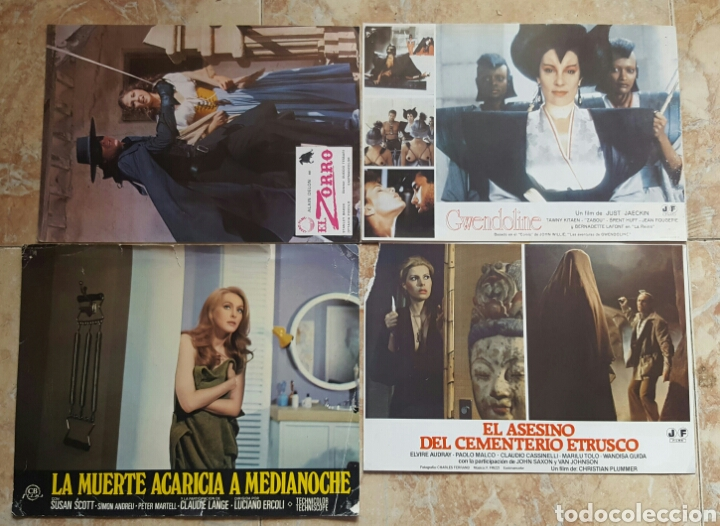 Cine: LOTE DE 54 FOTOCROMOS LOBBY CARDS CINE TERROR CIENCIA-FICCIÓN GIALLO KINKI DROGAS EROTICO - Foto 13 - 120032532