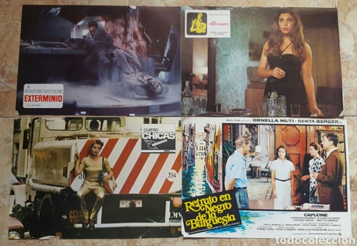 Cine: LOTE DE 54 FOTOCROMOS LOBBY CARDS CINE TERROR CIENCIA-FICCIÓN GIALLO KINKI DROGAS EROTICO - Foto 14 - 120032532
