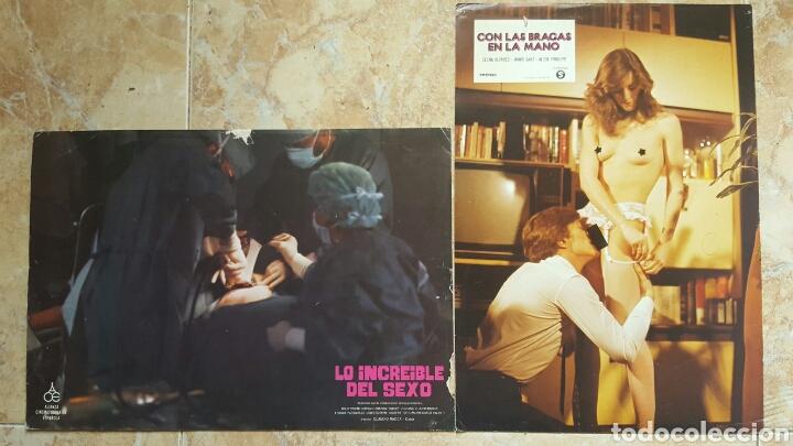 Cine: LOTE DE 54 FOTOCROMOS LOBBY CARDS CINE TERROR CIENCIA-FICCIÓN GIALLO KINKI DROGAS EROTICO - Foto 15 - 120032532