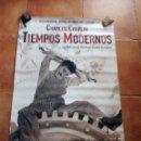 Cine: PÓSTER TIEMPOS MODERNOS - CHARLES CHAPLIN ,PÓSTER DE CINE.. Lote 120069899