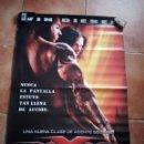 Cine: PÓSTER TRIPLE X,VIN DIESEL XXX. PÓSTER DE CINE.. Lote 120071527