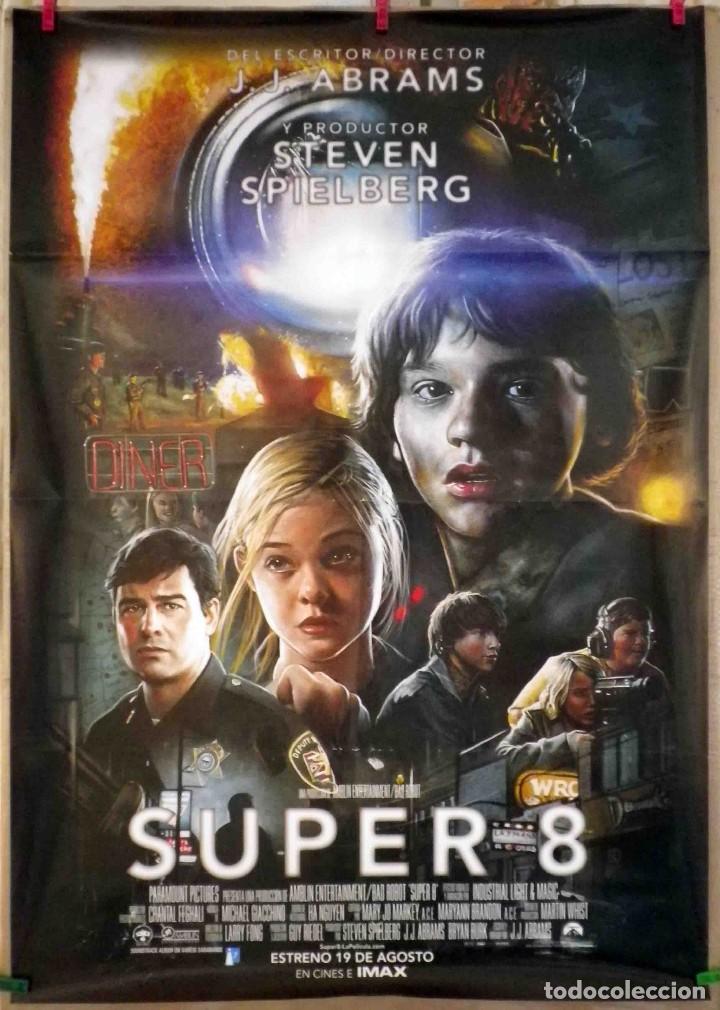 ORIGINALES DE CINE: SUPER 8 (J.J. ABRAMS / STEVEN SPIELBERG) - 70X100 (Cine - Posters y Carteles - Ciencia Ficción)