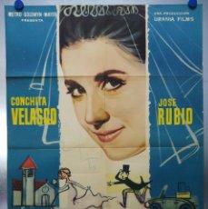 Cine: LA BODA ERA A LAS DOCE. CONCHA VELASCO, JOSE RUBIO. AÑO 1963. Lote 120224919