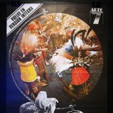 Cine: ORIGINAL POSTER CARTEL DE CINE MONDO CANE 70 X 100. Lote 120307635