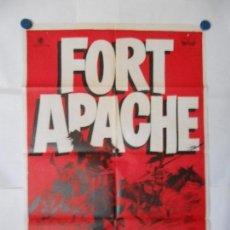 Cine: FORT APACHE - 1963 - CARTEL ORIGINAL 70 X 100. Lote 120416067