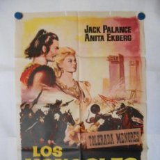 Cine: LOS MONGOLES - CARTEL ORIGINAL 70 X 100. Lote 120417783