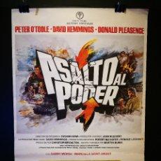 Cine: ORIGINAL POSTER CARTEL DE CINE ASALTO AL PODER 70 X 100. Lote 186051440