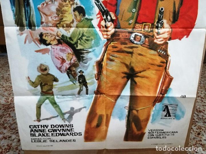Cine: EL IMPERIO DEL CRIMEN .ROD CAMERON CATHY DOWNS POSTER ORIGINAL 70X100 ESTRENO.1963. - Foto 2 - 199043657