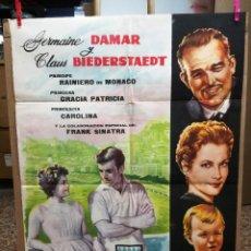 Cine: VACACIONES EN MONACO. AÑO 1963, PRINCIPE RAINIERO, GRACE KELLY, PRINCESA CAROL. Lote 173674303
