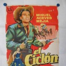 Cine: EL CICLON - CARTEL ORIGINAL LITOGRAFICO 70 X 100. Lote 120454303