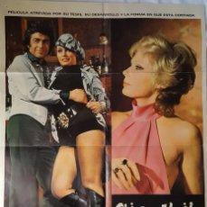 Cine: PÓSTER ORIGINAL CHICAS DE ALQUILER (1974). Lote 120553915