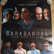 Cine: GARABANDAL, SOLO DIOS LO SABE - APROX 70X100 CARTEL ORIGINAL CINE (L57). Lote 191220100