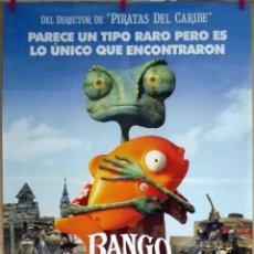 Cine: ORIGINALES DE CINE: RANGO (ANIMACIÓN) 70X100. Lote 120651431