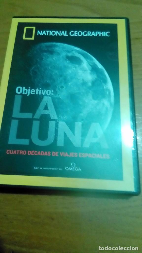 OBJETIVO LA LUNA CUATRO DÉCADAS DE VIAJES ESPACIALES, NATIONAL GEOGRAPHIC (Cine - Posters y Carteles - Documentales)