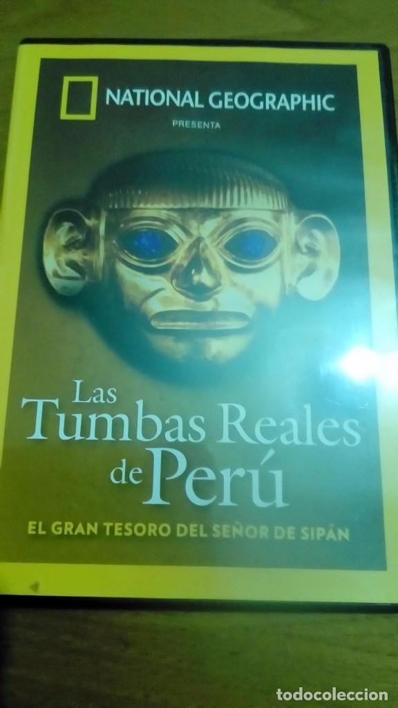 LAS TUMBAS REALES DE PERÚ, EL GRAN TESORO DEL SEÑOR DE SIPAN, NATIONAL GEOGRAPHIC (Cine - Posters y Carteles - Documentales)