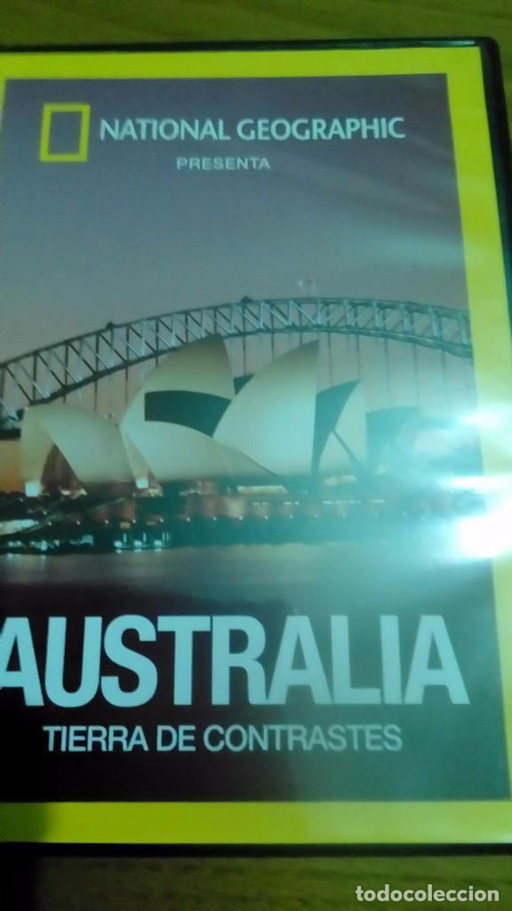AUSTRALIA TIERRA DE CONTRASTES, NATIONAL GEOGRAPHIC (Cine - Posters y Carteles - Documentales)