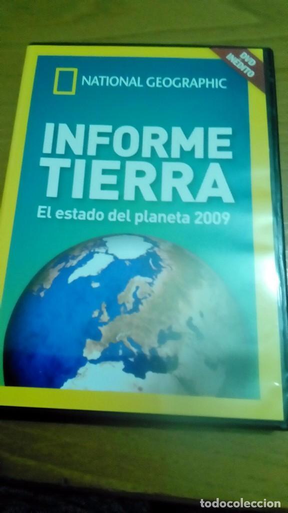 INFORME TIERRA, EL ESTADO DEL PLANETA 2009, NATIONAL GEOGRAPHIC (Cine - Posters y Carteles - Documentales)