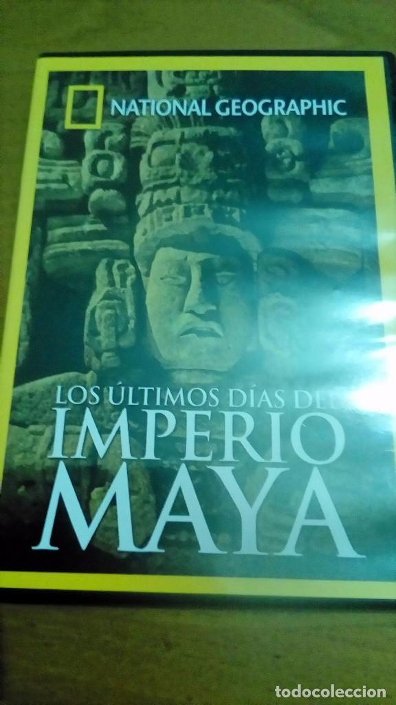 LOS ÚLTIMOS DÍAS DEL IMPERIO MAYA, NATIONAL GEOGRAPHIC (Cine - Posters y Carteles - Documentales)