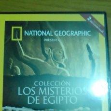 Cine: EL REY ESCORPIÓN, LA AUTÉNTICA CLEOPATRA, COLECCIÓN LOS MISTERIOS DE EGIPTO. Lote 120702663