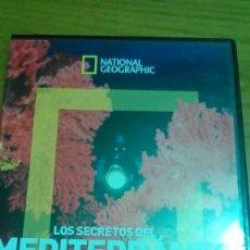 Cine: LOS SECRETOS DEL MEDITERRÁNEO, EL MUNDO PERDIDO DE COUSTEAU, NATIONAL GEOGRAPHIC. Lote 120702835