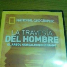 Cine: LA TRAVESÍA DEL HOMBRE, EL ÁRBOL GENEALÓGICO HUMANO, NATIONAL GEOGRAPHIC. Lote 120702855