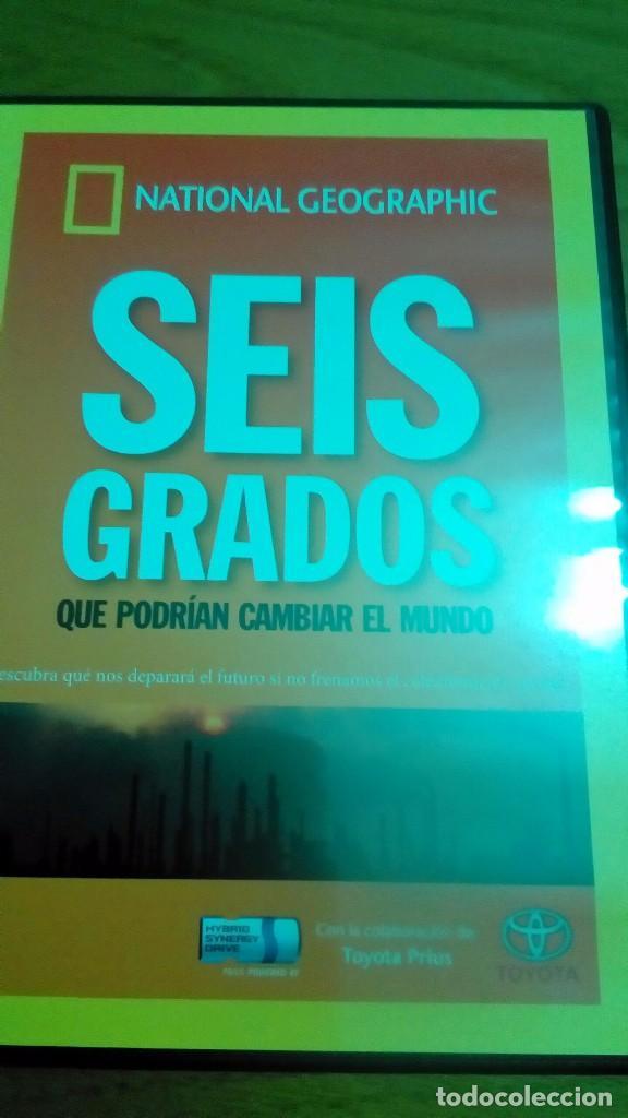 SEIS GRADOS QUE PODRÍAN CAMBIAR EL MUNDO, NATIONAL GEOGRAPHIC (Cine - Posters y Carteles - Documentales)