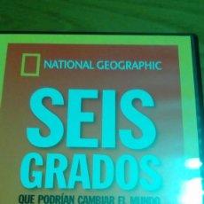 Cine: SEIS GRADOS QUE PODRÍAN CAMBIAR EL MUNDO, NATIONAL GEOGRAPHIC. Lote 120702883