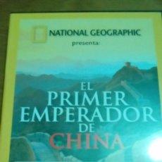Cine: EL PRIMER EMPERADOR DE CHINA, NATIONAL GEOGRAPHIC. Lote 120702903