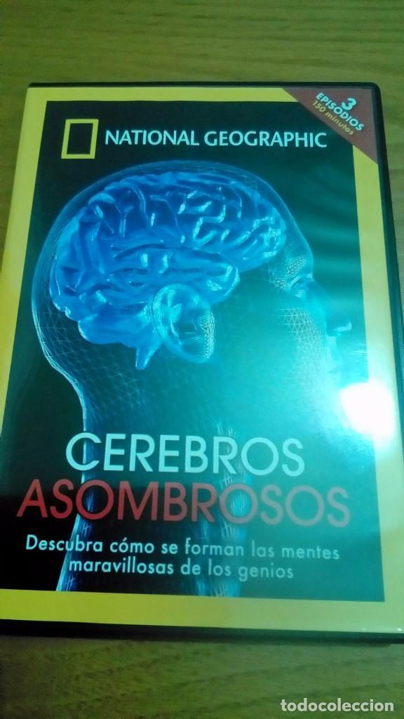CEREBROS ASOMBROSOS, NATIONAL GEOGRAPHIC (Cine - Posters y Carteles - Documentales)