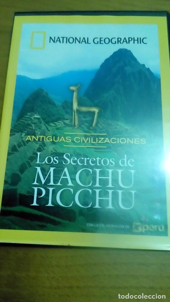 LOS SECRETOS DE MACHU PICCHU, ANTIGUAS CIVILIZACIONES, NATIONAL GEOGRAPHIC (Cine - Posters y Carteles - Documentales)