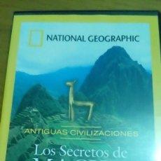 Cine: LOS SECRETOS DE MACHU PICCHU, ANTIGUAS CIVILIZACIONES, NATIONAL GEOGRAPHIC. Lote 120702995