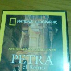 Cine: PETRA Y EL REINO DE LOS NABATEOS, ANTIGUAS CIVILIZACIONES, NATIONAL GEOGRAPHIC. Lote 120703003