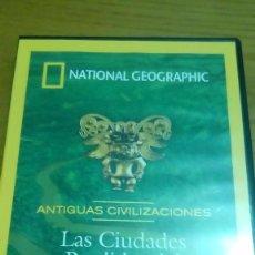 Cine: LAS CIUDADES PÉRDIDAS DEL AMAZONAS, ANTIGUAS CIVILIZACIONES, NATIONAL GEOGRAPHIC. Lote 120703015