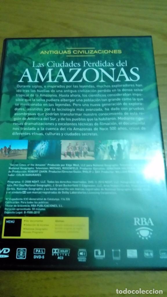 Cine: Las ciudades pérdidas del Amazonas, antiguas civilizaciones, National Geographic - Foto 2 - 120703015