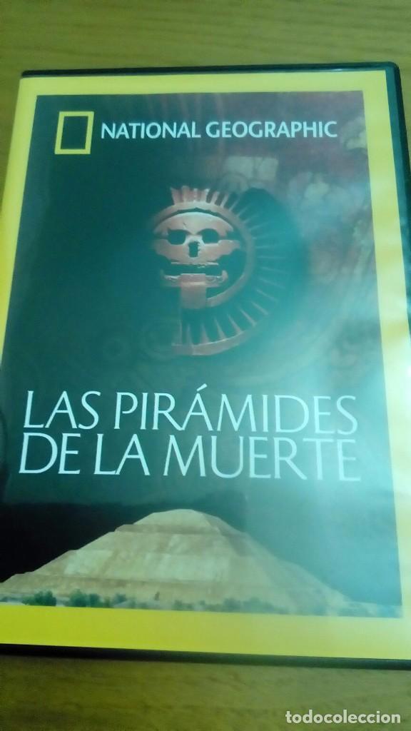 LAS PIRÁMIDES DE LA MUERTE, NATIONAL GEOGRAPHIC (Cine - Posters y Carteles - Documentales)