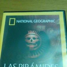 Cine: LAS PIRÁMIDES DE LA MUERTE, NATIONAL GEOGRAPHIC. Lote 120703575