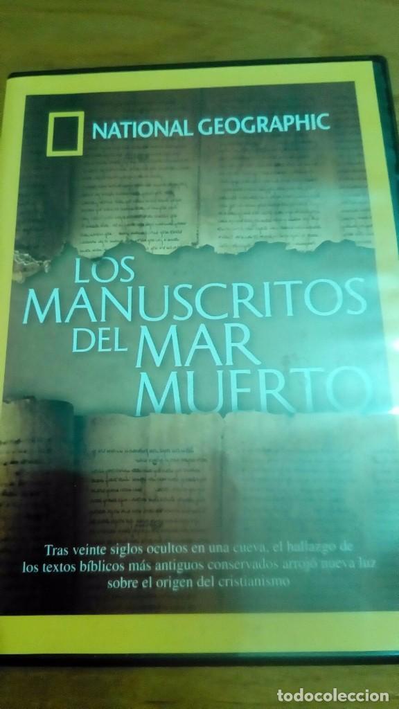 LOS MANUSCRITOS DEL MAR MUERTO, NATIONAL GEOGRAPHIC (Cine - Posters y Carteles - Documentales)