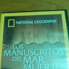 Cine: LOS MANUSCRITOS DEL MAR MUERTO, NATIONAL GEOGRAPHIC. Lote 120703651