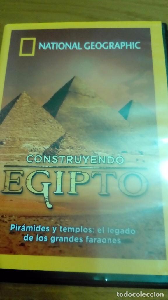 CONSTRUYENDO EGIPTO, PIRÁMIDES Y TEMPLOS EL LEGADO DE LOS GRANDES FARAONES, NATIONAL (Cine - Posters y Carteles - Documentales)