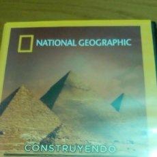 Cine: CONSTRUYENDO EGIPTO, PIRÁMIDES Y TEMPLOS EL LEGADO DE LOS GRANDES FARAONES, NATIONAL. Lote 120703671