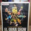 Cine: EL GRAN SHOW ANTONIO MINA VINCE TAYLOR POSTER ORIGINAL 70X100 DEL ESTRENO. Lote 120763671