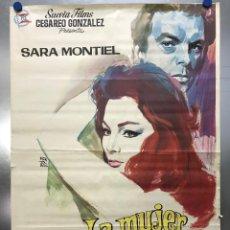 Cine: LA MUJER PERDIDA - SARA MONTIEL, GIANCARLO DEL DUCA, MASSIMO SERATO - AÑO 1966 - MONTALBAN. Lote 121022147