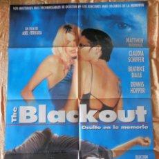 Cine: POSTER CARTEL DE CINE THE BLACKOUT. Lote 121065199