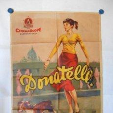 Cine: DONATELLA - CARTEL ORIGINAL 70 X 100. Lote 121068075