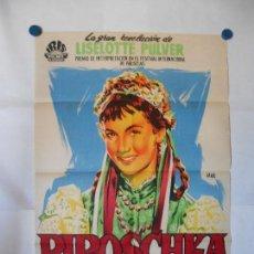 Cine: PIROSCHKA - CARTEL LITOGRAFICO ORIGINAL 70 X 100. Lote 121069627