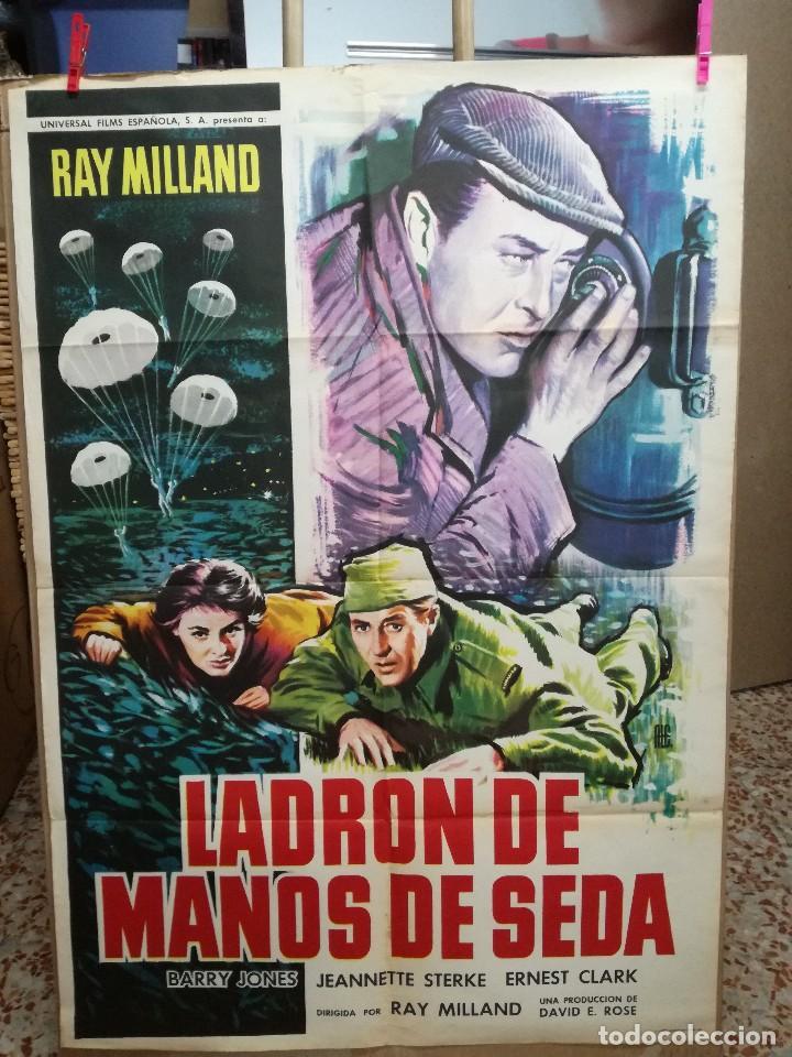 LADRON DE MANOS DE SEDA -- RAY MILLAND (Cine - Posters y Carteles - Clasico Español)