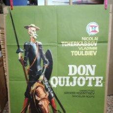 Cine: DON QUIJOTE DE LA MANCHA - NICOLAI TCHERKASSOV POSTER CARTEL. Lote 191297167