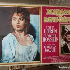 Cine: MADAME SANS GENE (CARTEL ORIGINAL) SOPHIA LOREN,AÑO 1962. Lote 121167279